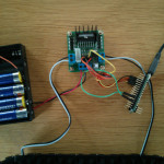 arduino micro supporting 5V  and IN1,IN2,IN3,IN4