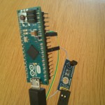 Arduino Micro  and LM35