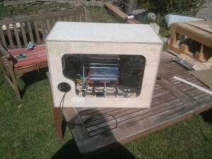 3D Printer Case - back