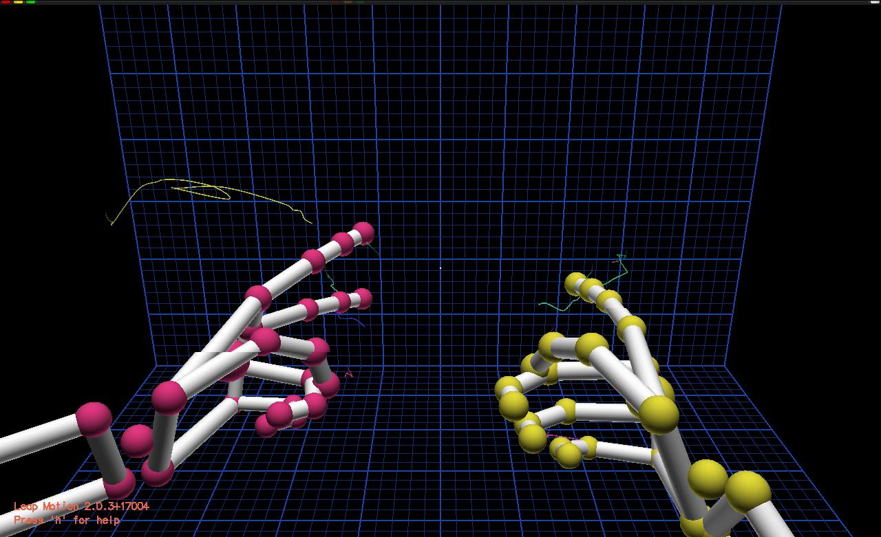 LeapMotionVisualization