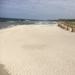 May Baltic Sea Trip - Beach Wustrow