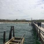 May Baltic Sea Trip - Wustrow - Sea bridge