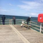 May Baltic Sea Trip - Wustrow - Sea bridge fishing people 2