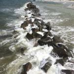 May Baltic Sea Trip - Wustrow break water