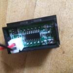 T4 . Voltmeter adjustment - voltmeter back