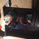 T4 . Voltmeter adjustment - back wiring