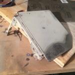 VW T4 Project - War against Rust - Battle I: fuel tank cap - sanding a bit further