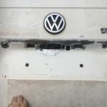 VW T4 Project – War against Rust – Battle II: trunk - sanded trunk