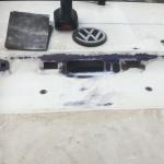 VW T4 Project – War against Rust – Battle II: trunk - applied rust remover