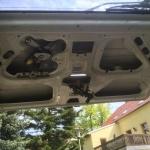 VW T4 Project – War against Rust – Battle II: trunk - inside the trunk