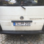 VW T4 Project – War against Rust – Battle II: trunk - back after treatment
