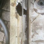 VW T4 Project – War against Rust – Battle V - Sill Part One - sanding