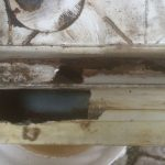 VW T4 Project – War against Rust – Battle V - Sill Part One - making the hole rectangular