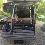 VW T4 Project – Interior construction - Removal of all Seats - from back