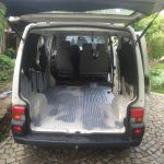 VW T4 Project – War against Rust – Battle VI - Interioir - from the back further