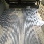 VW T4 Project – War against Rust – Battle VI - Interioir - from the back