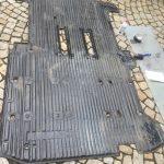 VW T4 Project – War against Rust – Battle VI - Interioir - carpet sealing with duct tape