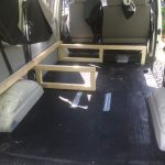 VW T4 Project – Interior construction – Realization - further wood assembly 2