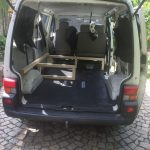 VW T4 Project – Interior construction – Realization - further wood assembly 3