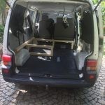 VW T4 Project – Interior construction – Realization - further wood assembly