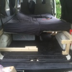 VW T4 Project – Interior construction – Realization - final assemlby - better than expected!