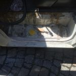 VW T4 Project – War against Rust – Battle V – Sill Part Two - added putty