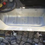 VW T4 Project – War against Rust – Battle V – Sill Part Two - some layers of paint