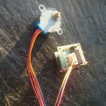 28BYI-48 stepper motor with Wifi - final setup