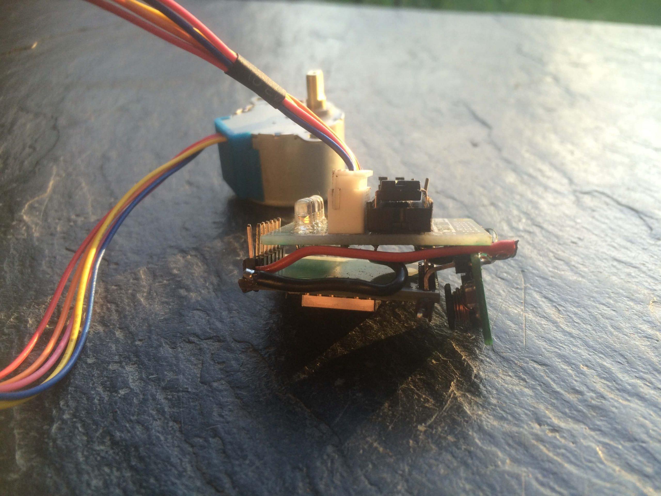 28BYI-48 stepper motor with Wifi - final setup 4