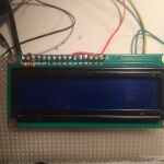 ESP8266 Liquid Display:  the Display front