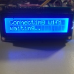 ESP8266 Liquid Display:  Connecting to Wifi