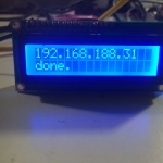 ESP8266 Liquid Display:  Successful Connection